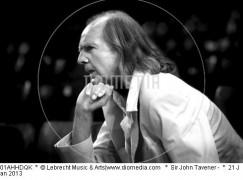 Saint John Tavener has been admitted to the pantheon