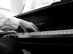 I'm a concert pianist with great reviews. I work behind a bar.