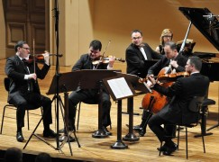 Orchestra CEO steps up as recital pianist