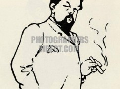 debussy smoking2