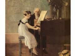 London's £4,000 piano lesson