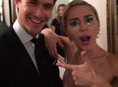 Social and personal: Miley Cyrus auditions a violinist