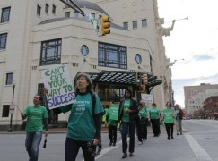 fort worth Symphony protest 005