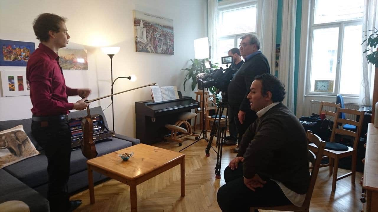 Airberlin violin ban makes it onto Austrian TV