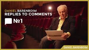 Watch Daniel Barenboim answer his music mail