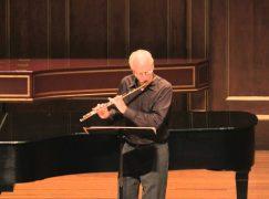 Boston mourns a popular flute