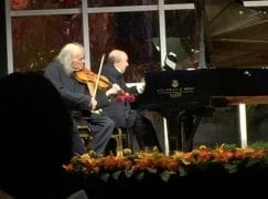 Together, these two soloists are 189 years old