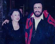 Pavarotti's hostess marks 50 years of high flying artists