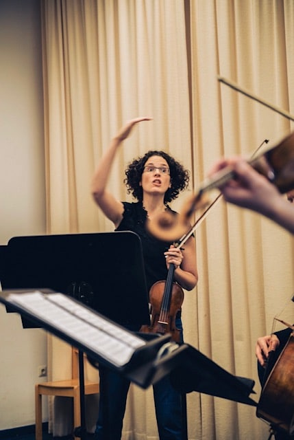 Anthea Kreston is back, with another string quartet