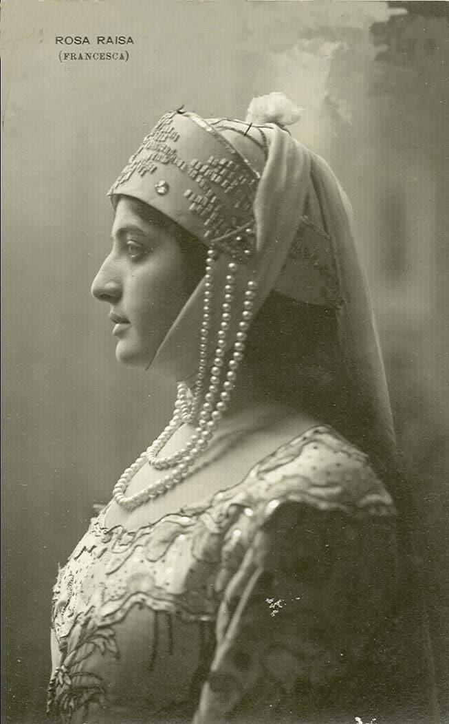 Raisa from Bialystock who sang the first Turandot…