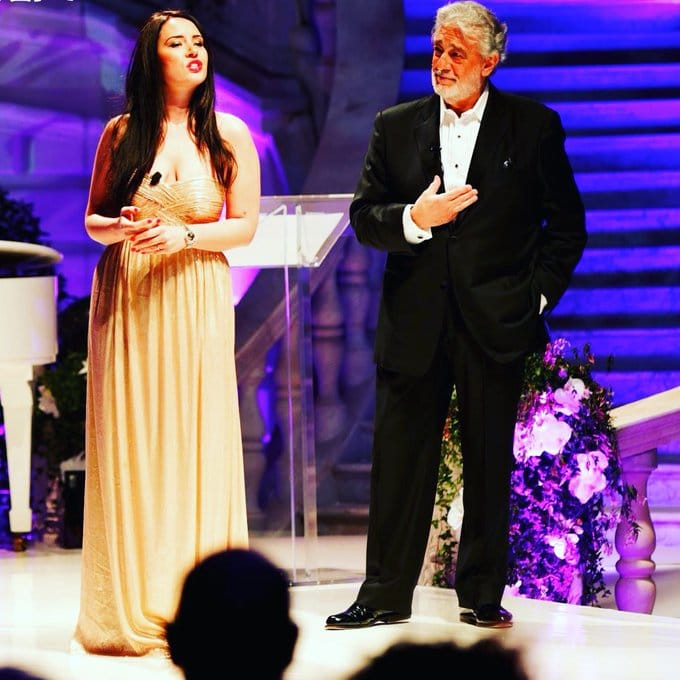 Just in: A star speaks up for Placido Domingo