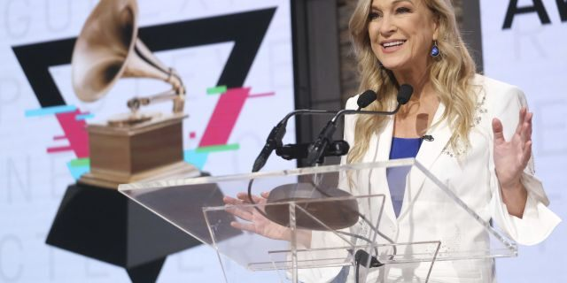 Grammy chief says she was sexually harrassed