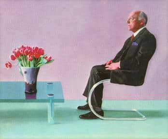 Royal Opera chairman bought the Hockney, then loaned it back