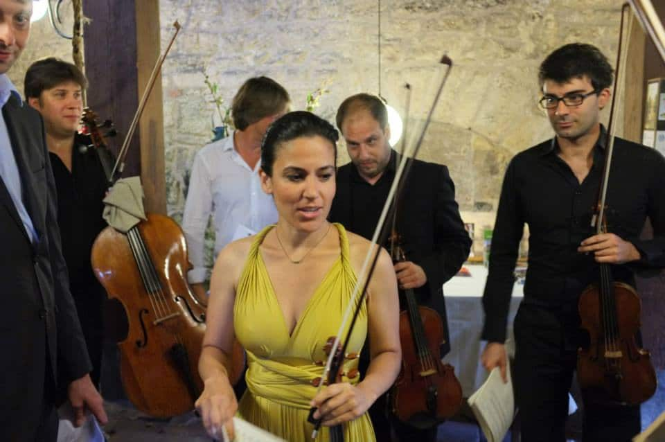 Menuhins gather in Song for Corinne