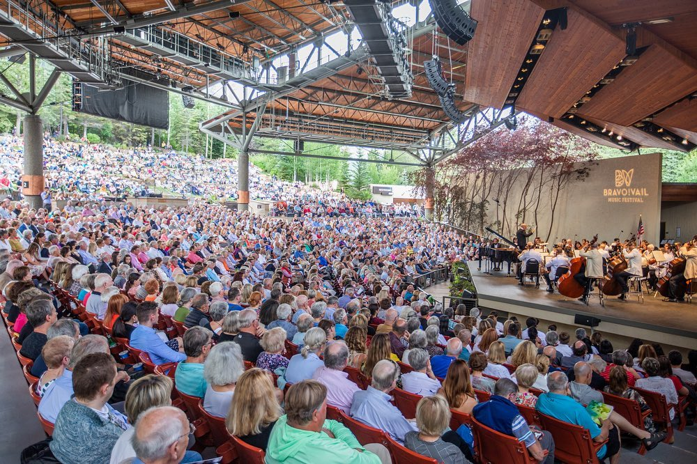 Safe, sold out concert in Vail