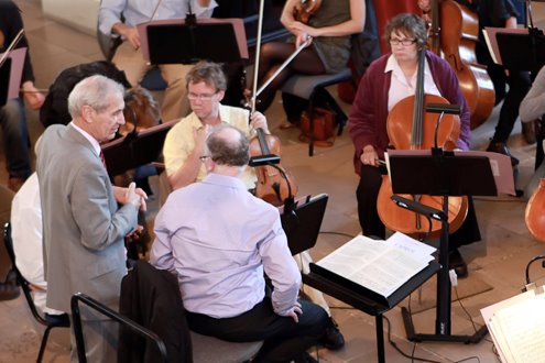 Death of a London orchestra boss