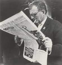 Which newspaper did Shostakovich read